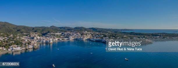 Cadaqués from the air