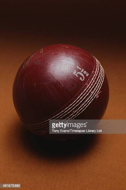 Cadbury's chocolates sold in packaging resembling a cricket ball circa 1950