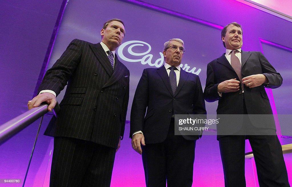 Cadbury's executives, Chief Executive Of : News Photo