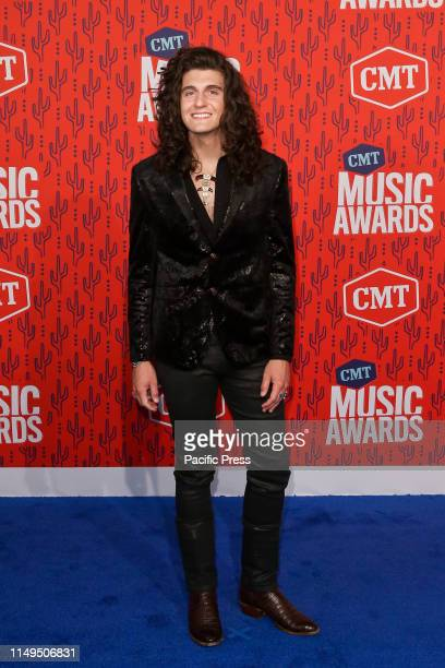 Cade Foehner attends the 2019 CMT Music Awards at the Bridgestone Arena in Nashville Tennessee