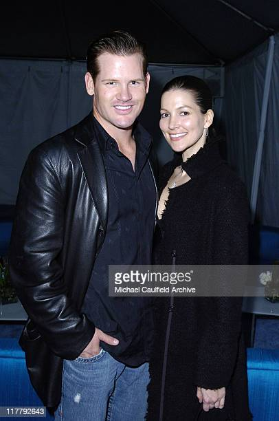 Cade McNown and guest during 4th Annual ten Fashion Show Presented by General Motors After Party in Los Angeles California United States