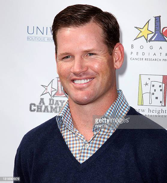 Cade McNown attends Yahoo Sports presents A Day of Champions at Sports Museum of Los Angeles on November 6 2011 in Los Angeles California