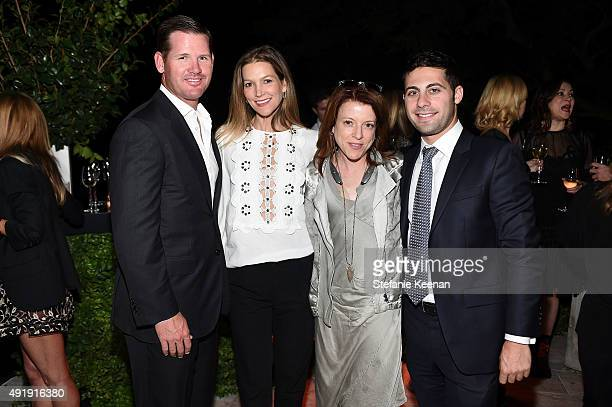 Cade McNown Christina McNown Lauren Selig and Julian Jacobs attend Barneys New York Private Dinner In Support of Heart of Los Angeles at the private...