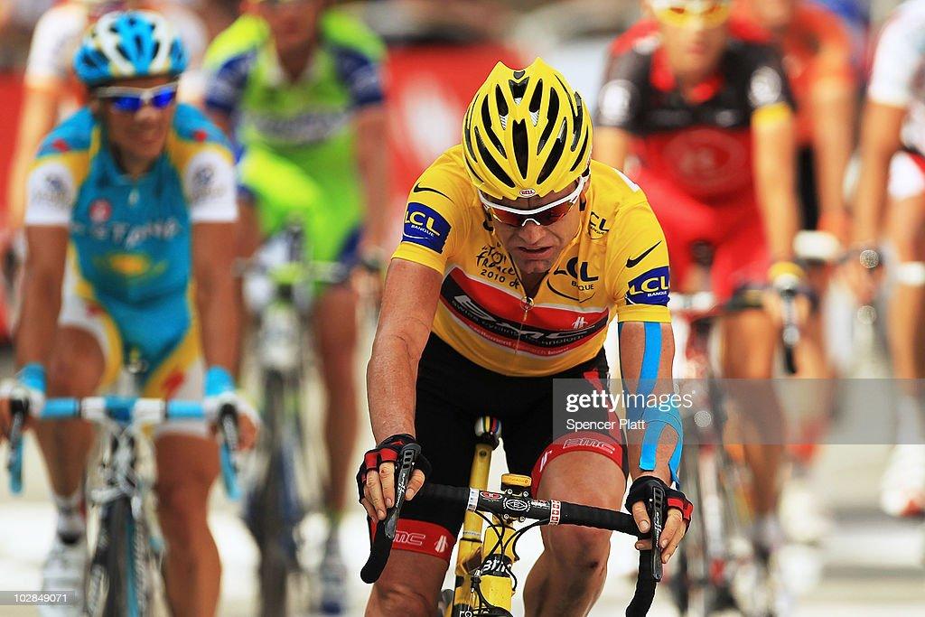 Le Tour 2010 - Stage Nine : News Photo