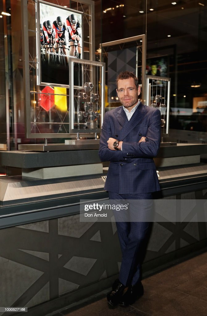 Cadel Evans Celebrates Cycling With TAG Heuer