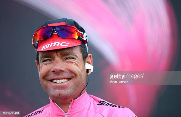 Cadel Evans of Australia and team BMC Racing ahead of the tenth stage of the 2014 Giro d'Italia, a 173km stage between Modena and Salsomaggiore on...