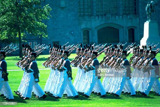 Cadet parade, USMA, West Point, NY