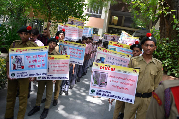 IND: New Delhi Municipal Council Organises Dengue Awareness Rally