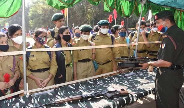 IND: NCC Day Celebration At Gandhi Maidan In Patna