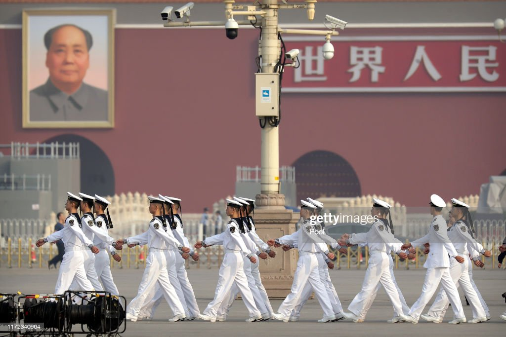 Martyrs' Day Celebrations in Beijing : News Photo