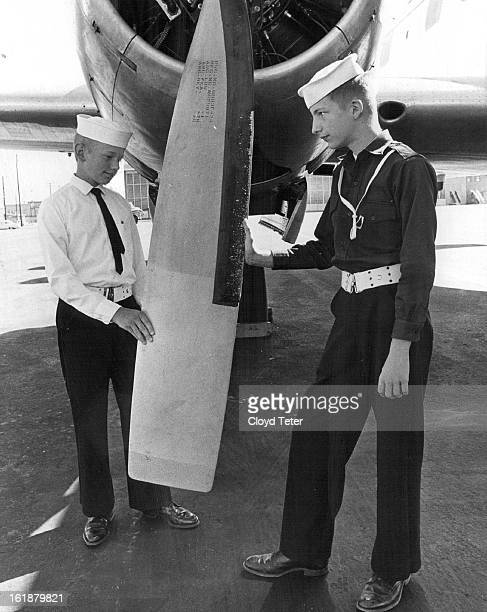 AUG 15 1964 AUG 16 1964 Cadets Get Plane Ride While hot sun beat down on groundlings a group of 50 Navy League cadets were treated to an airplane...