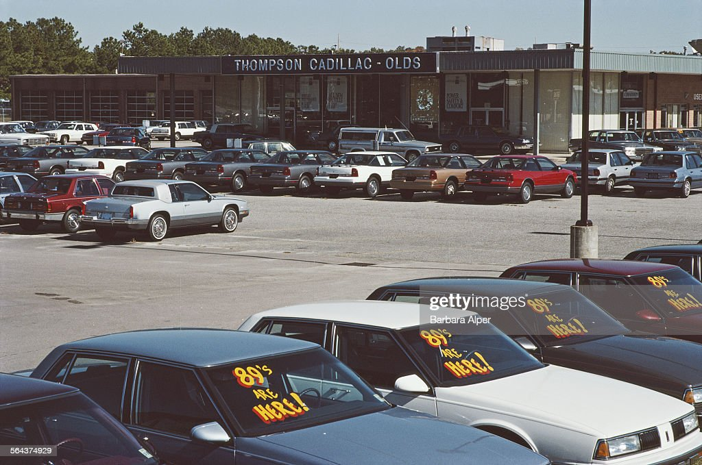 Car Dealership Pictures Getty Images - Cadillac dealer raleigh nc