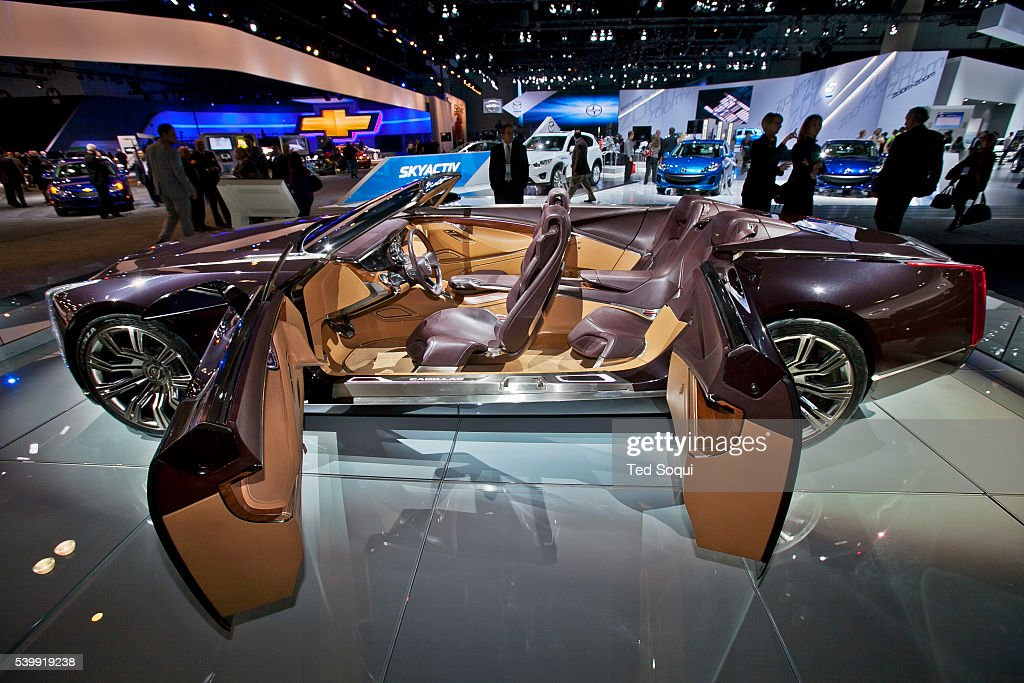 Cadillac Ciel Concept Car With Suicide Doors And No Top The 2011