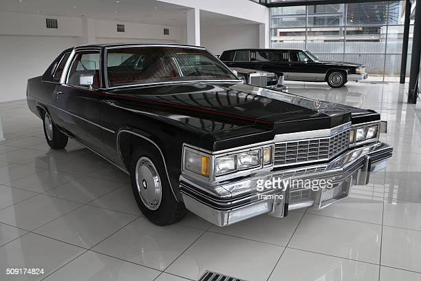 Cadillac Coupe DeVille in a car showroom