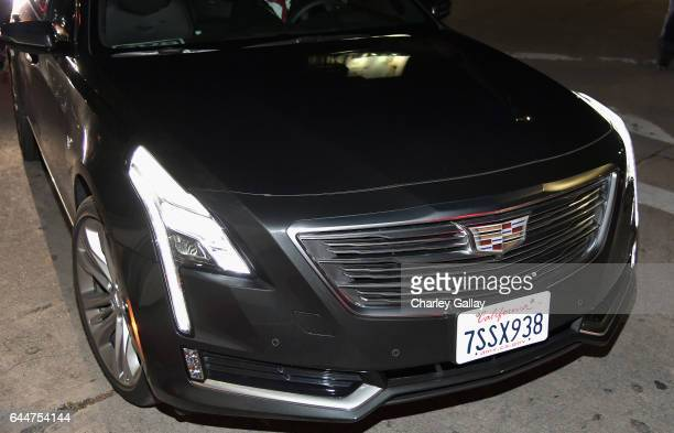 Cadillac CT6 arrives at the Cadillac Oscar Week Celebration at Chateau Marmont on February 23 2017 in Los Angeles California