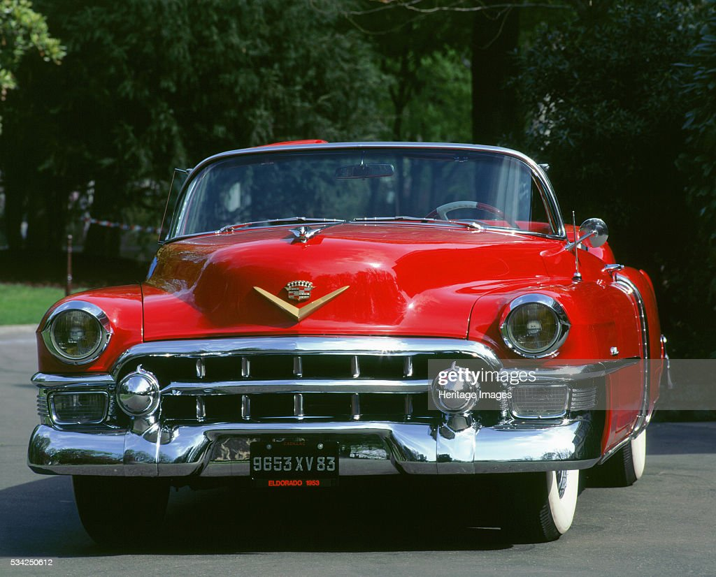 1953 Cadillac Eldorado : News Photo