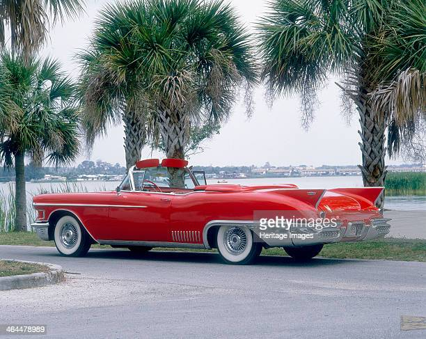 Cadillac Eldorado Biarritz This is the convertible edition of Cadillac's luxury Eldorado Note the distinctive tail fins