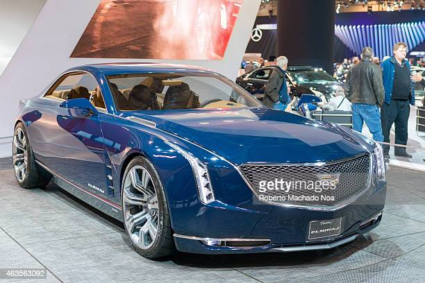 CENTRE TORONTO ONTARIO CANADA Cadillac Elmiraj in the Canadian International AutoShow CIAS for short is Canada's largest auto show and most...