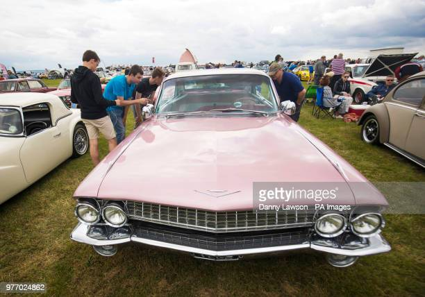 Cadillac Fleetwood during the Classic Car amp Motor Show at Castle Howard in Yorkshire