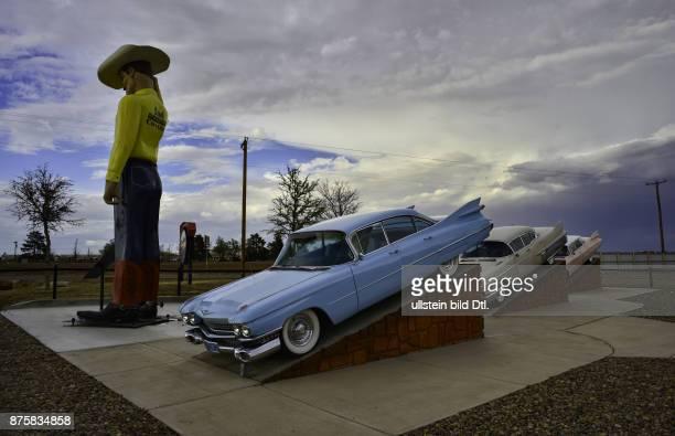 Cadillac Ranch Vega to Amarillo Route 66 USA California to Illinois
