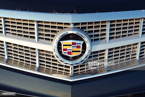 cadillac srx - vehicle grille stock pictures, royalty-free photos & images