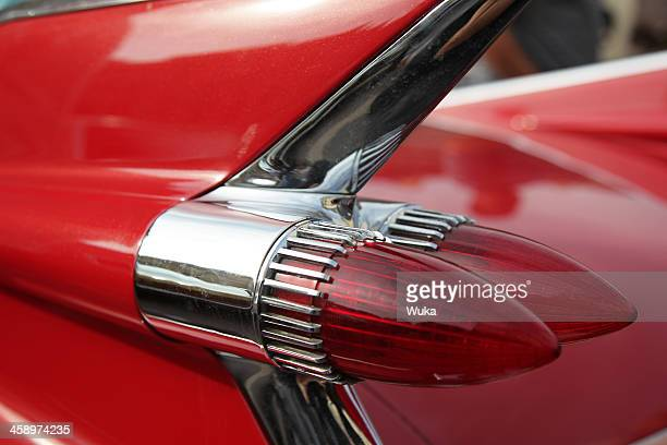 cadillac tail light - vertical stabilizer stock pictures, royalty-free photos & images