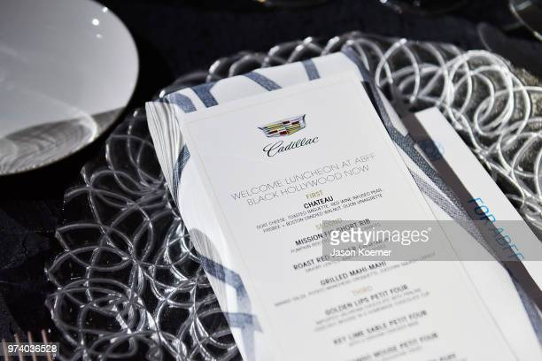 Cadillac Welcome Luncheon At ABFF Black Hollywood Now at The Temple House on June 13 2018 in Miami Beach Florida