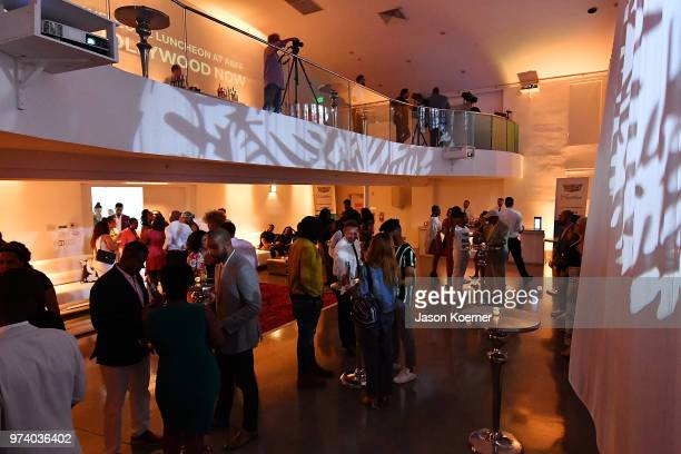 Cadillac Welcome Luncheon At ABFF Black Hollywood Now The Temple House on June 13 2018 in Miami Beach Florida