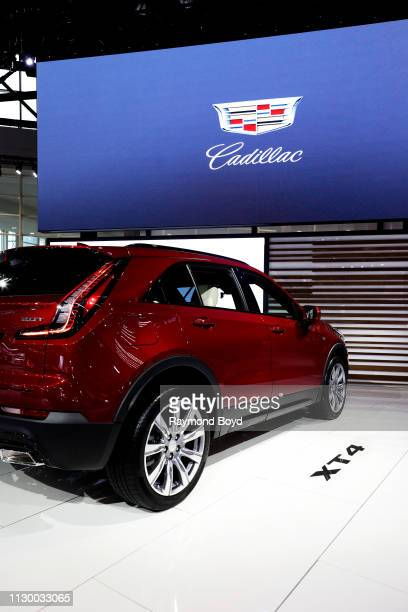 Cadillac XT4 is on display at the 111th Annual Chicago Auto Show at McCormick Place in Chicago, Illinois on February 7, 2019.