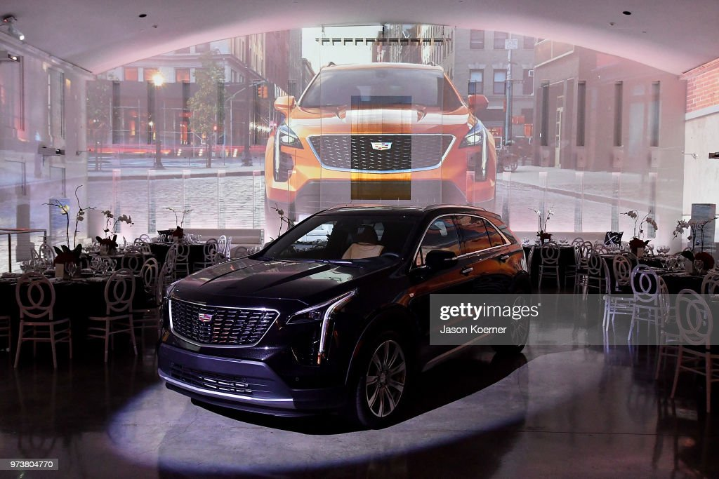 Cadillac XT4 on display at Cadillac Welcome Luncheon At