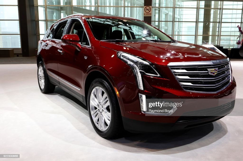 Cadillac XT5 is on display at the 110th Annual Chicago Auto Show at McCormick Place in Chicago, Illinois on February 9, 2018.