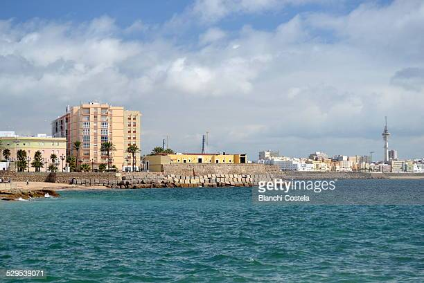Cadiz City view from the sea