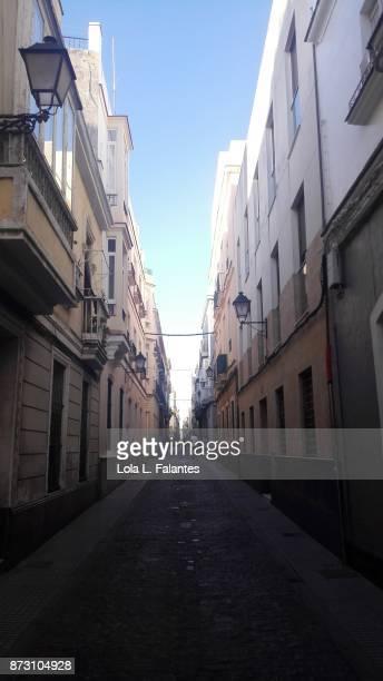 Cadiz cityscape. Streetphoto
