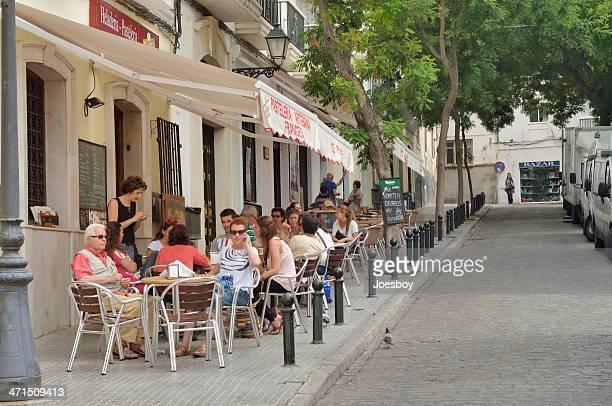 Cadiz Sidewalk Cafe