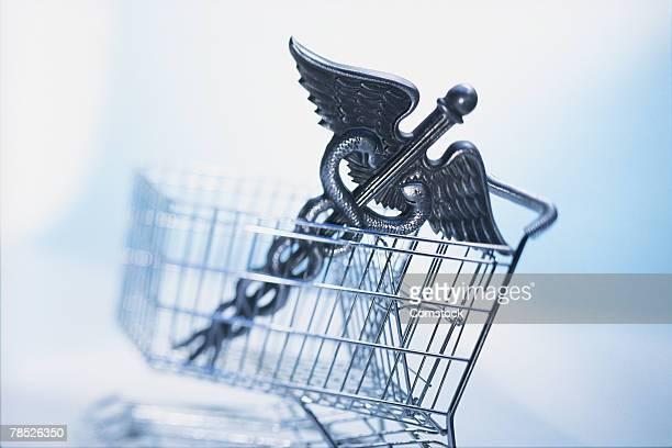 Caduceus in shopping cart