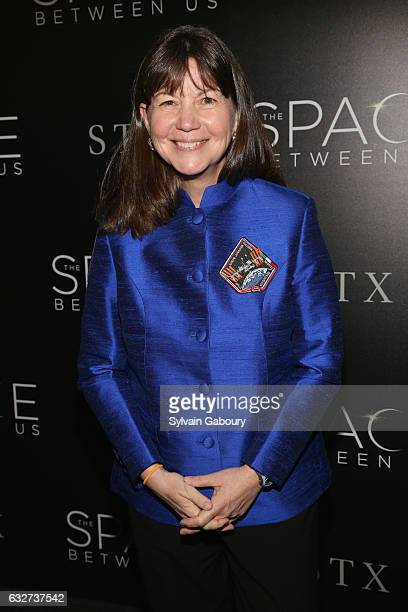"""Cady Coleman attends STX Entertainment with The Cinema Society Host a Screening of """"The Space Between Us"""" on January 25, 2017 in New York City."""