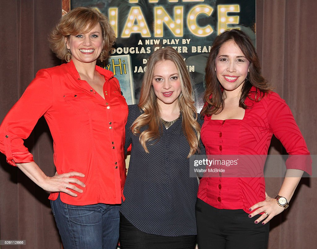 Usa the nance meet greet pictures getty images cady huffman jenni barber and andrea burns attending the meet greet for the lincoln m4hsunfo
