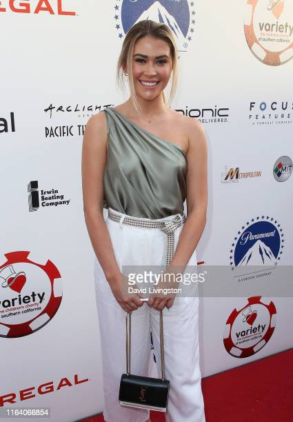 Caelynn MillerKeyes attends the 9th Annual Variety The Children's Charity Poker and Casino Night at Paramount Studios on July 24 2019 in Hollywood...