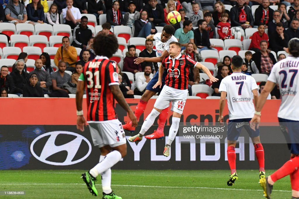 FRA: OGC Nice v SM Caen - Ligue 1
