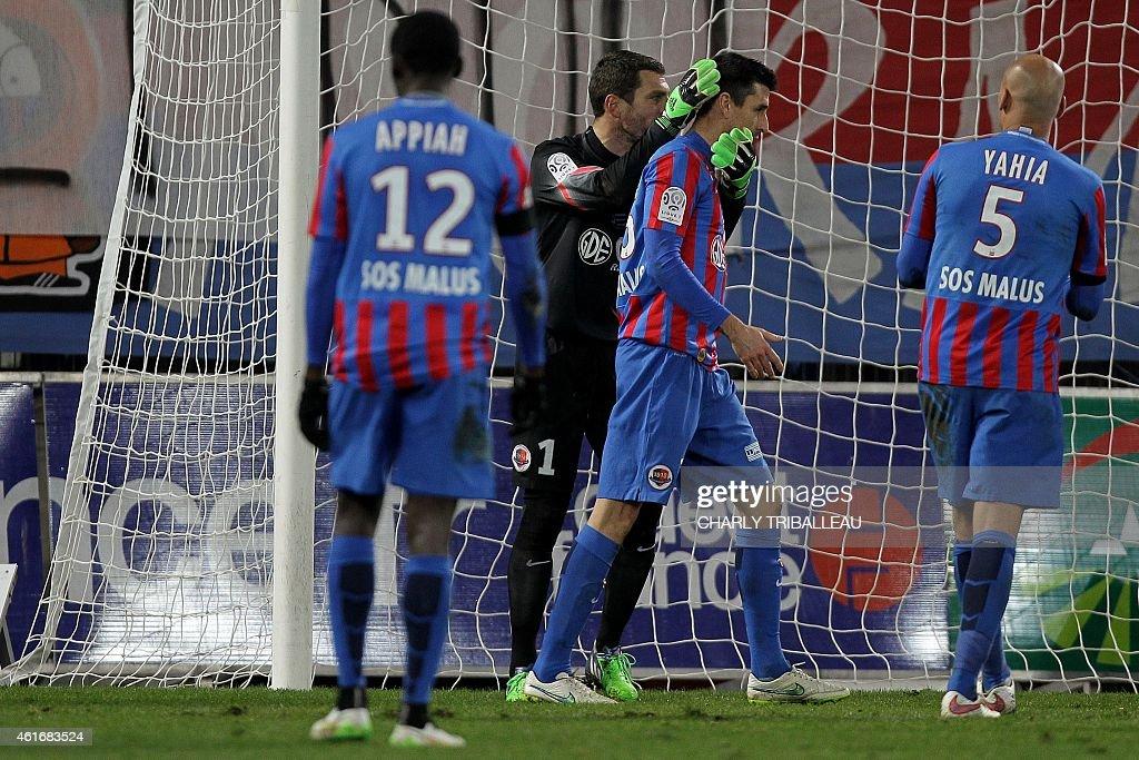 SM Caen v Stade de Reims - Ligue 1