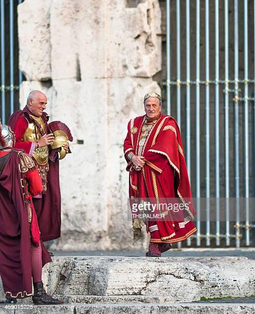 caesar and centurions - julius caesar stock photos and pictures