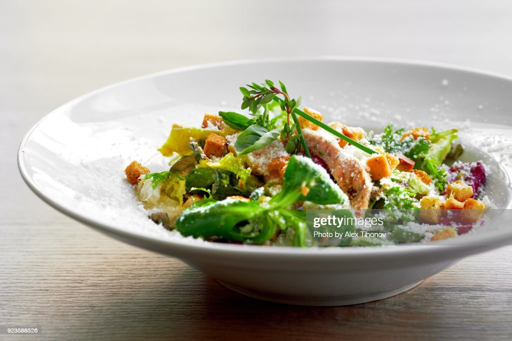 Caesar salad : Stock Photo