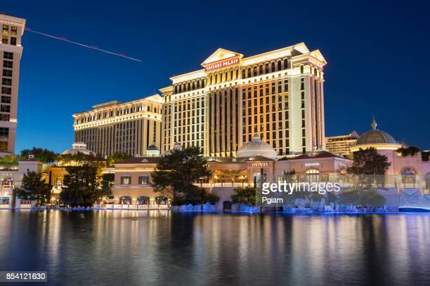 Caesars Palace hotel on the Las Vegas Strip