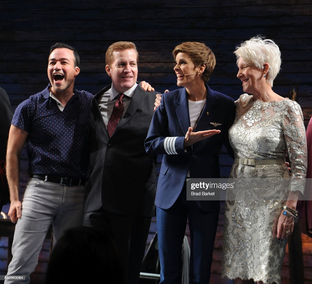 """Come From Away"" Broadway Opening Night - Arrivals & Curtain Call"