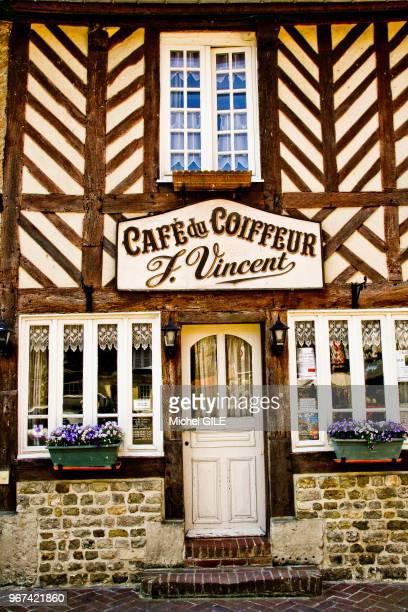 Café du coiffeur' Beuvron en Auge Calvados France