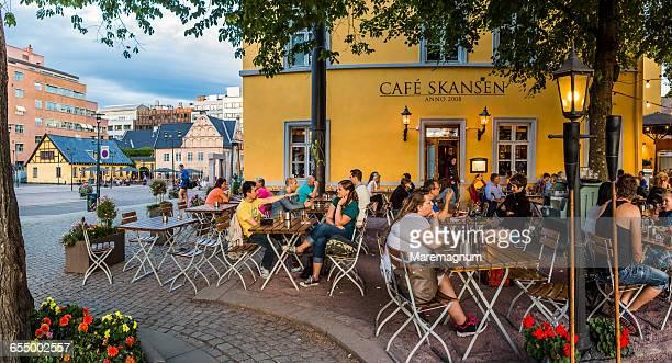 Café in Christiania Torv (square)