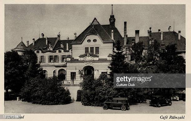 Mariánské Lázne Early 20th century Spa town in the Karlovy Vary Region of modern day Czech Republic