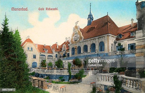 Mariánské Lázn Early 20th century Spa town in the Karlovy Vary Region of modern day Czech Republic
