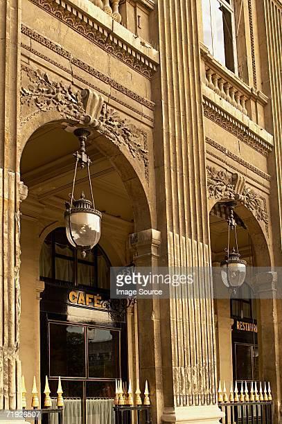 cafe at palais royal - palais royal stock photos and pictures