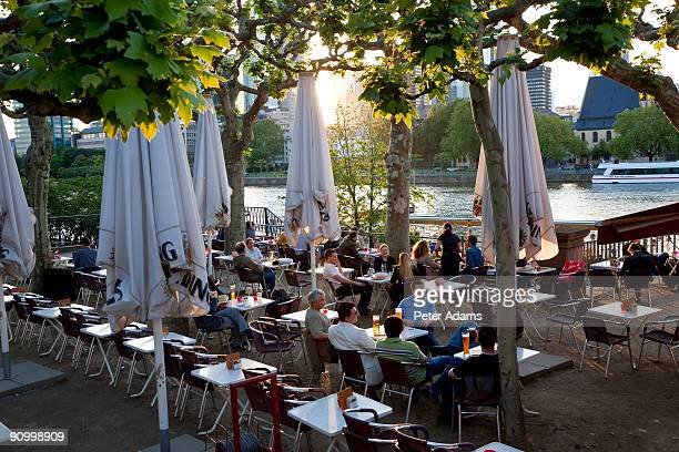 Cafe & Beer Garden, Frankfurt, Germany